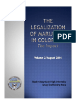 August 2014 Legalization of marijuana in Colorado the Impact Volume 2