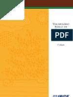 [IBGE] Vocabulário Básico de Recursos Naturais e Meio Ambiente