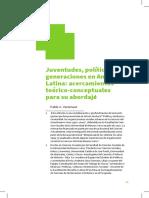 2 - Vommaro (2014) - Juventudes Politicas y Generaciones en America Latina