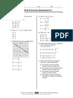 Practice EOC Assessment 2