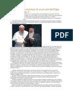 Síntesis de La Encíclica Ut Unum Sint Del Papa San Juan Pablo II