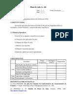 Modelo de Plano de Aula Desafio 2010