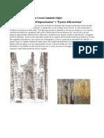 Cattedrali e Cicli Di Monet