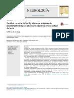 Paralisis Cerebral Infantil y El Uso de Sistemas de Posicionamiento Para El Control Postural
