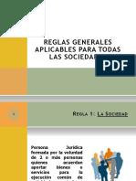 REGLAS PARA CONSTITUCIÓN DE EMPRESAS