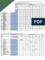 FSNW Provincial Legal Audits Schedule - FY 2018-2019