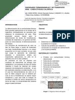 INFORME 8 Conductividad Térmica, universidad nacional