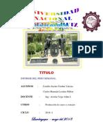 Facultad de Zootecnia Trabajo de Cuyes