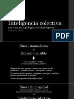 Presentación Inteligencia Colectiva. Pierre Lévy