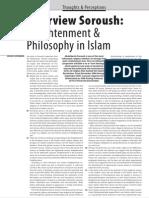An Interveiw with Abdolkarim Soroush by Michiel Leezenberg - Enlightenment and Philosophy in Islam