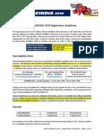 BAJA Registration Guidelines