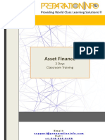 Asset Finance - PreparationInfo