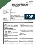 NBR 12141 MB 3482 - Material Filtrante - Pedregulho - Determinacao Da Composicao Granulometria