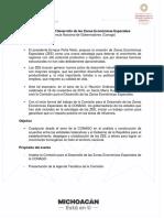 Agenda Zonas Economicas Especiales