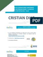 Presentacion Invima Cristian Diaz