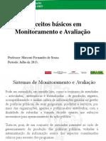 SOUSA, Marconi Fernandes - Conceitos Básicos de Monitoramento e Avaliação