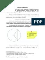 Geometria e Trigonometria 1