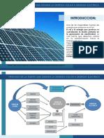 Energia Solar a Energia Electrica