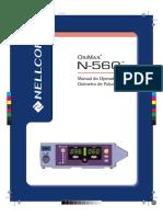 Manual Oxímetro Nellcor Oximax N-560
