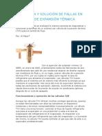 Detección y Solución de Fallas en Válvulas de Expansión Térmica