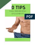 10 Tips para Perder Peso Eficazmente