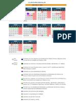 Calendario Curso Escolar 2017-2018