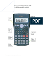 Tips de Funsiones Calculadora CASIOFx-82ms