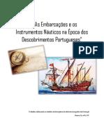 As Embarcações e Os Instrumentos Náuticos Na Época Dos Descobrimentos Portugueses