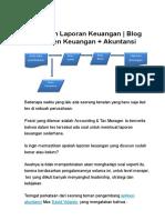 Menyusun Laporan Keuangan - Blog Manajemen Keuangan + Akuntansi