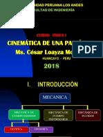 Cinematica de Una Particula 2018