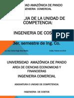Presentación Del 3er Semestre Ing. de Costos - Ing. Comercial (2)