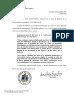 Certificacion 128 2009-10 Enmienda a La 98 - Excenciones de Matricula