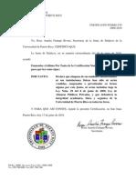 Certificacion 130 2009-10 No a La Venta de Recintos