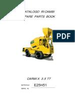 Manual de partes Carmix 3.5TT SERIES C, D, E, F, G, H.pdf