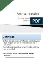 Artrite reactiva