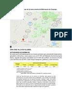 Actividades Económicas de La Zona Oriente de Michoacán de Ocampo