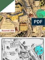 Harta Bucuresti 1856 1871 1900