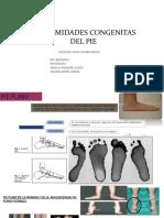 Deformidades Congenitas de Pie Plano y Cavo-reahabilitacion