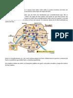 Roteiro e Mapa de Paris