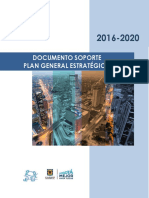 Documento_soporte Plan Estrategico EAAB PGE_2016-2020