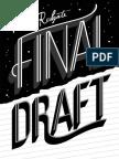"""Final Draft"" - Chapter Excerpt"