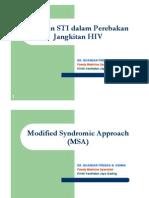MSA in STI
