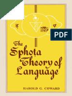 Harold G. Coward-Sphota Theory of Language_ A Philosophical Analysis-Motilal Banarsidass (1997).pdf