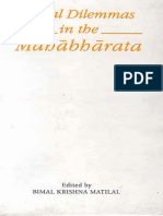Matilal, Bimal Krishna (ed.)-Moral dilemmas in the Mahābhārata-Indian Institute of Advanced Study (1989)