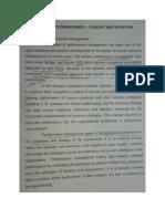 Performance Management Gitam Unit i