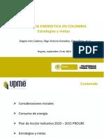 2_eficiencia Energetica en Colombia_upme