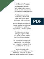 A Mi Bandera Peruana