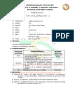 Plan de Clase VIII