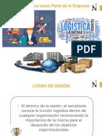 Sesión1-La Logística Como Parte de UNa Organización Empresarial
