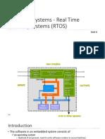 Embedded Systems - RTOS